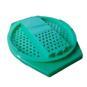 Vintage Tupperware Grater and Bowl Set, Green
